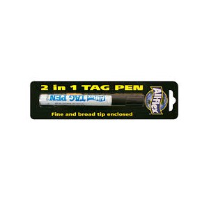 Tag Marker Pen Black Allflex (broad and fine)