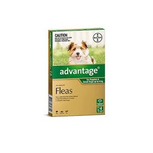 Advantage For Puppies & Small Dogs Up to 4 Kg Pkt 4