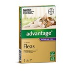 Advantage for Cats Over 4kg PKT 6