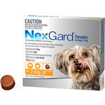 NexGard Chewables for Dogs 2-4kg 6pk