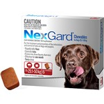 NexGard Chewables for Dogs 25.1-50kg 6pk