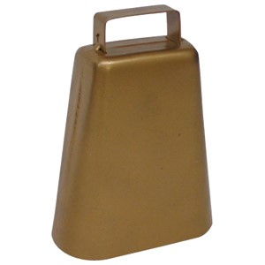 Cow Bell Oblong 12cm Tall