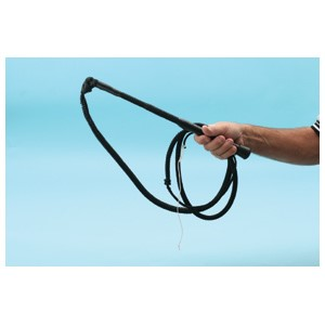 Stock Whip Karaka 6ft Synthetic Black