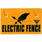 Sign electric warning d/sided EF15 Thunderbird EA