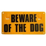 Sign Beware of the Dog Thunderbird EA