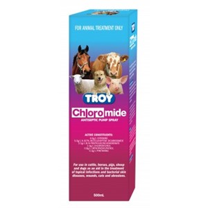 Chloromide Pump Spray 500ml Troy