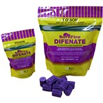 DIFENATE Surefire Rat/Mice Blocks Purple 2.4kg