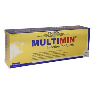 Multimin Injection for Cattle 500ML