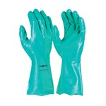 Glove Green Nitrile H/D Chemical L Techware