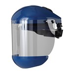 Face visor blue Techware