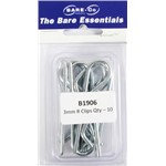 Bare essentials 3mm R clip 10 pack Bare Co