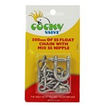 Cocky Valve Chain 300mm x M10 Nipple