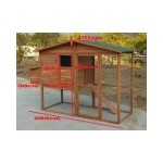 Chicken Coop Timber Large