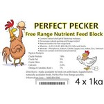 Perfect Pecker free range nutrient block 1Kg Olsson