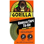 Gorilla Tape To Go Handy Roll 25mm x 9mt Black