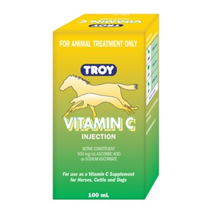 Vitamin C Injectable 100ml Troy