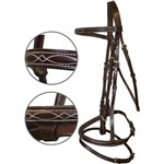 Jumping Bridle Full Brown