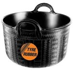 Red Gorilla Feeder Tyre Rubber Large 2 Handle Feeder 30ltr
