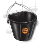 Red Gorilla Feeder Tyre Rubber Flat Back Bucket 17L