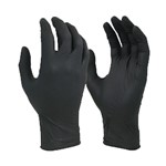Black Shield Extra Heavy Duty Nitrile Gloves XL 100pk Techware