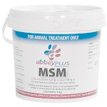 Abbey Plus MSM Powder 1kg