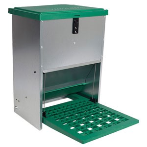 Feed-O-Matic Step - On 12kg automatic plate feeder