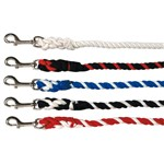 "Poly Cotton Lead Rope 2.13m (7"") Small Snap Hook"